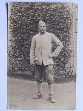 12C1 CPA WWI CARTE POSTALE PHOTO PORTRAIT POILU 3 e RI BAR LE DUC 1916 14/18
