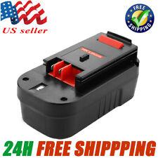 18Volt HP For BLACK & DECKER B18 Slide Battery HPB18-OPE HPD1800 NICD A1718 A18