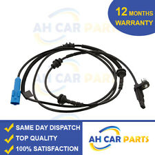2X FRONT LEFT /& RIGHT ABS WHEEL SPEED SENSOR SJA12x2PE 2004- FITS PEUGEOT 407