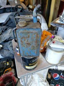 Vintage Valor Esso Blue Paraffin Tin