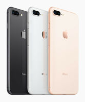 "Apple iPhone 8 / 8 Plus 64/256GB GSM Unlocked ""With Ear Pod"""