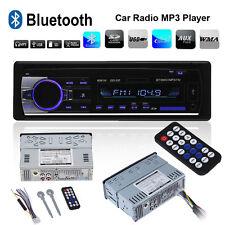 Car Stereo Radio Audio Bluetooth Head Unit Player FM MP3/USB/SD/AUX Handsfree