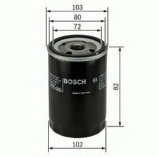 NEW ENGINE OIL FILTER OE QUALITY REPLACEMENT BOSCH 0986452030