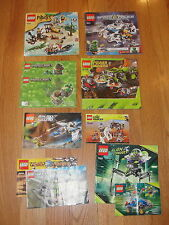 LEGO 79106 70701 21102 5971 6241 8708 8199 7051  Lot of INSTRUCTION MANUALS ONLY