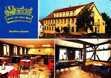 """Lohr-Sendelbach, Hotel """"alla vecchia Post"""", cartolina, ungelaufen"""