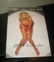 Vintage Anna Nicole Smith playboy calendar 18 x 12 VERY RARE sealed /new 1998