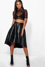 Gonne e minigonne da donna nero asimmetrico