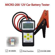 LANCOL MICRO-200 12V Auto Tester Della Batteria Analizzatore W/Stampante