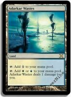 PLAYED Adarkar Wastes - Land Tenth 10th Edition Mtg Magic Rare