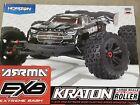 Arrma Kraton 1/5 EXB EXtreme Bash Roller Speed 4WD Monster Truck Black New!!