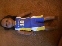 "2014 American Girl African American Black 17"" Doll"