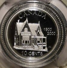 Canada 1900-2000 silver 10 cent Desjardins First Credit Union in North America
