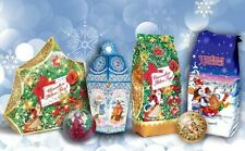 Set of sweets, candies, chocolate from Russia christmas surprise gift