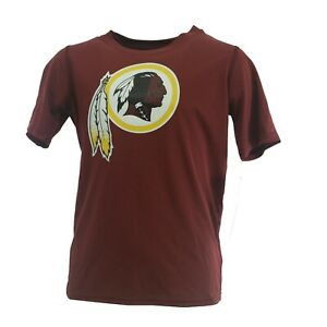 Washington Redskins Official NFL Kids Youth Size Athletic T-Shirt New with Tags