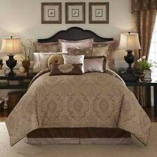 Waterford CALLUM Corren Paisley Medallion Spice Nutmeg 7P King Comforter Set