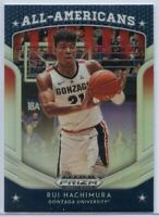 Rui Hachimura SILVER All-Americans Rookie Card #84 2019 Panini Prizm Draft Picks