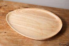 Handcrafted Triangolo in Legno Vassoio a forma di uovo Piastra Piatto Cibo Regalo server 30cm
