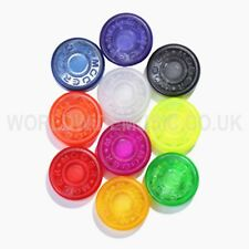 More details for pack of 10 mooer effects pedal / stomp box pedal toppers - choice of 10 colours