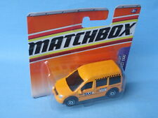 Matchbox Ford Transit Connect Taxi Yellow 70mm Toy Model Car in BP