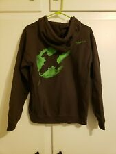 Firefly Serenity Leaf Brown Zip Up Sweatshirt Size Small