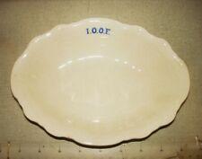 "Antique Homer Laughlin 'Hudson' 8"" Wide Vegetable Bowl - I.O.O.F. ODD FELLOWS"