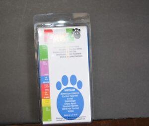 PROTEX PAWZ RUBBER DOG BOOTS ( MEDIUM ) 12 PER PACK