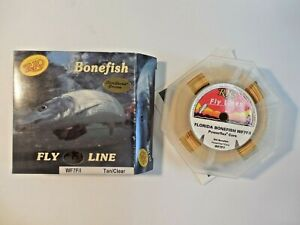 RIO Florida Bonefish Fly Line WF7F/I Floating/Intermediate 100' USA Tan Clear