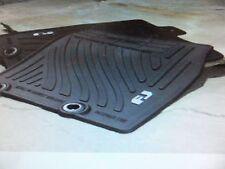 2011-2014 Toyota FJ Cruiser BLACK All-Weather Floor Mats! PT206-35110-21 Genuine