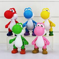 12cm 5 styles Yoshi Figure Super Mario Bros Yoshi PVC Figures Toys Model Dolls
