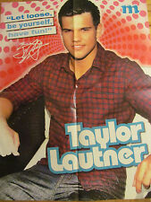 Taylor Lautner, Nick Jonas, Double Four Page Foldout Poster, Brothers