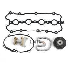 5Pcs Cam Timing Adjuster Chain Tensioner Gasket Kit For VW Passat GLI GTI 2.0T