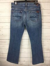Womens Seven 7 For All Mankind Boot cut Blue Jeans Size 26.