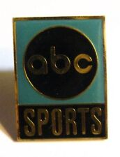 ABC Sports Lapel Pin - Vintage American Broadcasting Coporation Television Radio