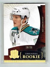 10-11 UD The Cup  Tommy Wingels  /25  Gold Spectrum  Rookie