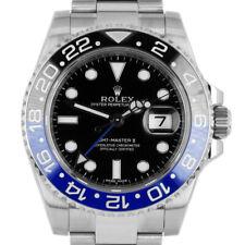 Rolex GMT Master II 116710 Men's Stainless Steel Automatic Black 1 Year Warranty