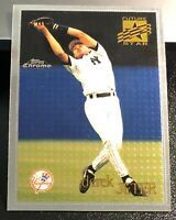 Derek Jeter 1996 Topps Chrome Future Stars #80 New York Yankees HOF