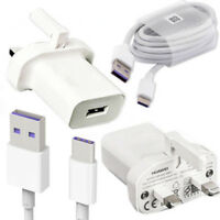 Huawei Mains Wall Charger Plug Adapter & Type C 5A 3.1 Data Charger Cable