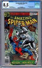 Amazing Spider-Man #190 Cgc 8.5 (March 1979, Marvel) Man-Wolf Appearance.