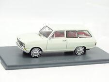 Neo 1/43 - Opel Kadett B Caravan Blanche