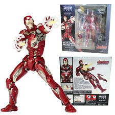 Marvel No.004 Iron Man Mark XLV 45 Action Figures Movie Revoltech Kaiyodo KO Toy
