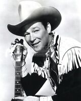 "ROY ROGERS SINGER & ACTOR ""KING OF THE COWBOYS"" - 8X10 PUBLICITY PHOTO (CC956)"