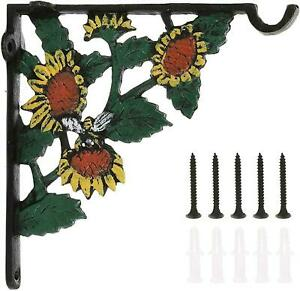 Decorative Plant Hook - Hooks for Hanging Plants - 6.2 Inch Hand Painted