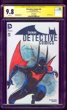 Batman Beyond 44 CGC SS 9.8 Rouleau Detective Comics Original art sketch 2015