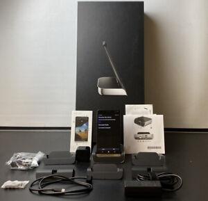 HP Elite x3 Smartphone 64GB, Dual SIM Unlocked Windows 10 Phone + Desk