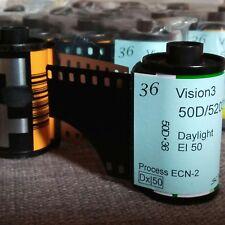 35mm - Kodak Vison3 50D motion picture color negative film, (*5 rolls)