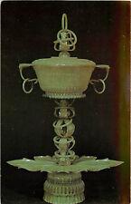 Chrome WA Postcard C665 Jade Covered Bowl China 18th Century Seattle Art Museum