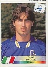 N°095 DINO BAGGIO ITALIA ITALY PANINI WORLD CUP 1998 STICKER VIGNETTE 98