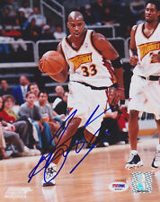 Antawn Jamison SIGNED 8x10 Photo Golden State Warriors PSA/DNA AUTOGRAPHED