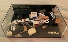 1:43 Minichamps Jacques Villeneuve BAR Honda 03 2001