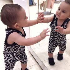 6-12M Baby Kids Boy Girl Warm Infant Romper Jumpsuit Bodysuit Cotton Clothes